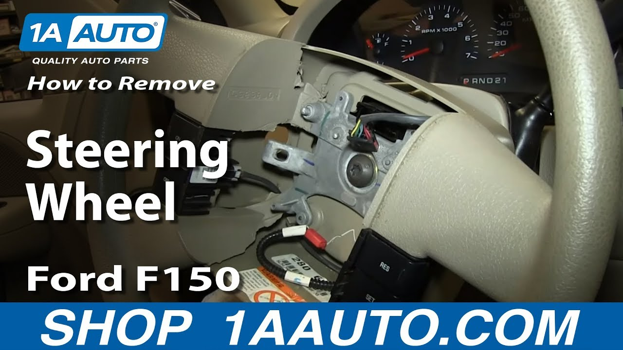 How To Replace Steering Wheel 04-08 Ford F150