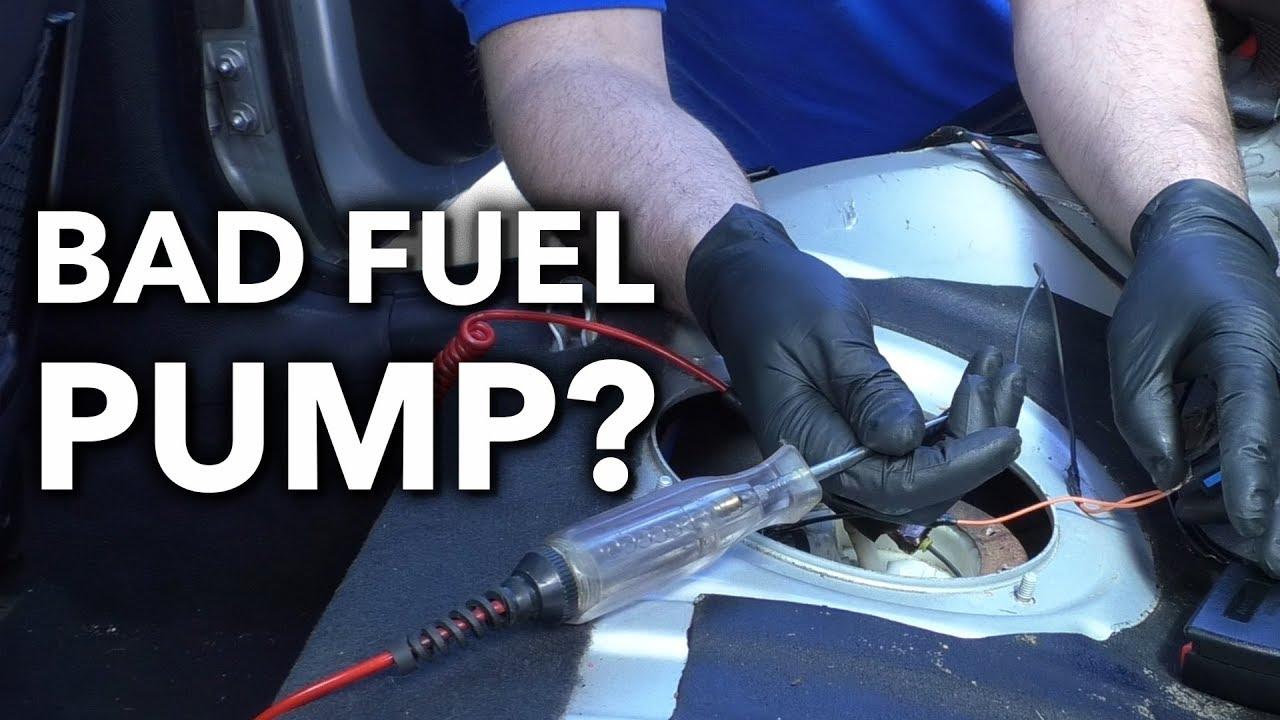 How to Diagnose a Failed Car Truck  SUV Fuel Pump