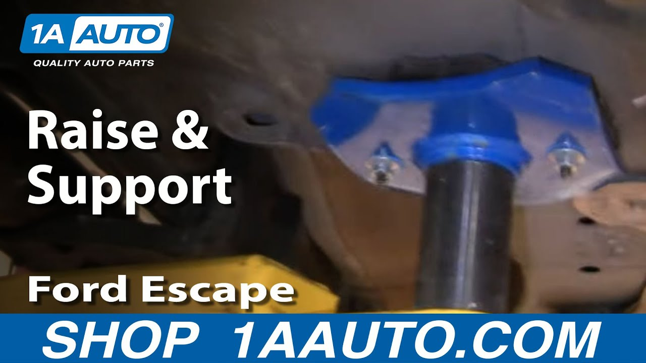How to Lift and Support 01-11 Ford Escape
