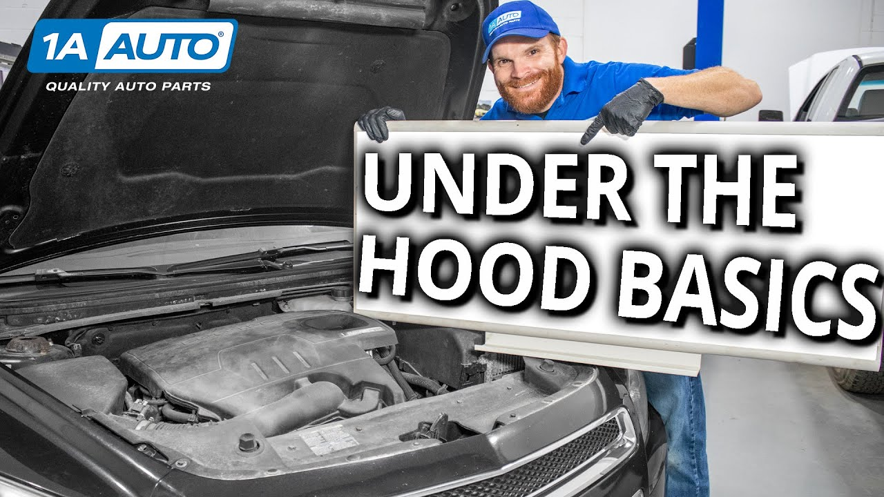 Under the Hood Basics Learn About the Stuff Under Your Cars Hood