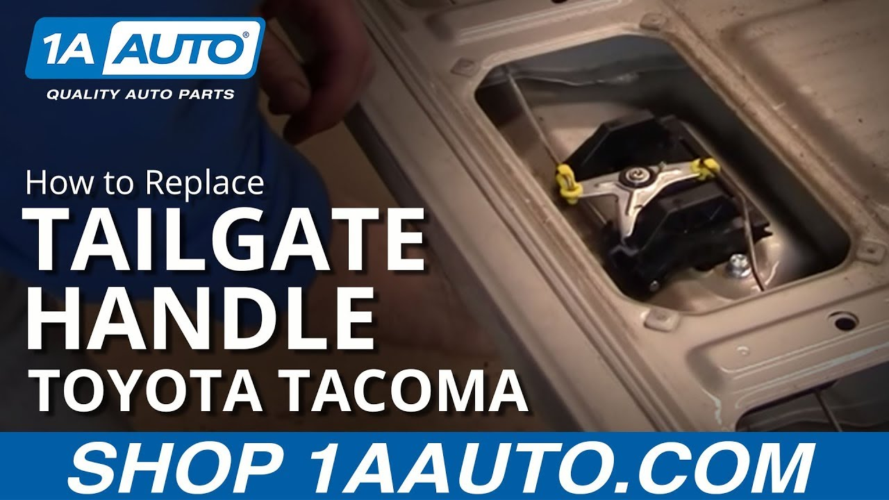How to Replace Tailgate Handle 95-04 Toyota Tacoma