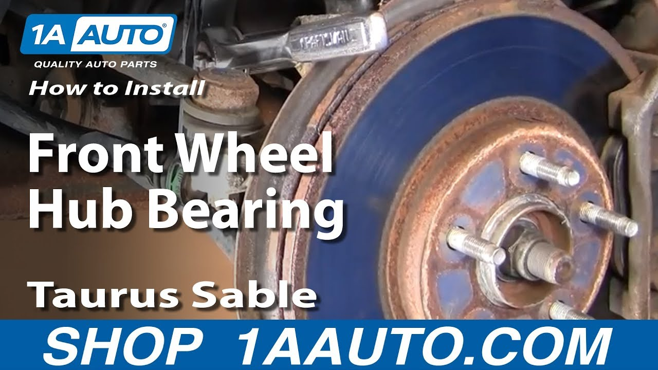 How to Replace Wheel Bearing & Hub 96-07 Ford Taurus [PART 1]