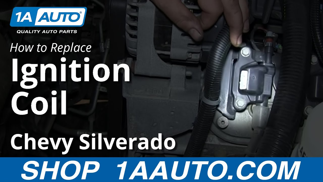 How To Replace Ignition Coil 07
