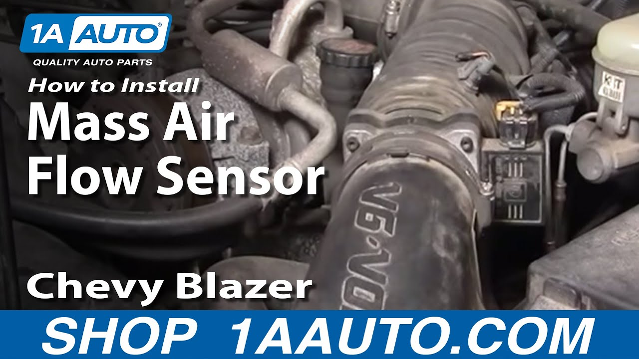 How to Replace Mass Air Flow Sensor 96-05 Chevy Blazer S10