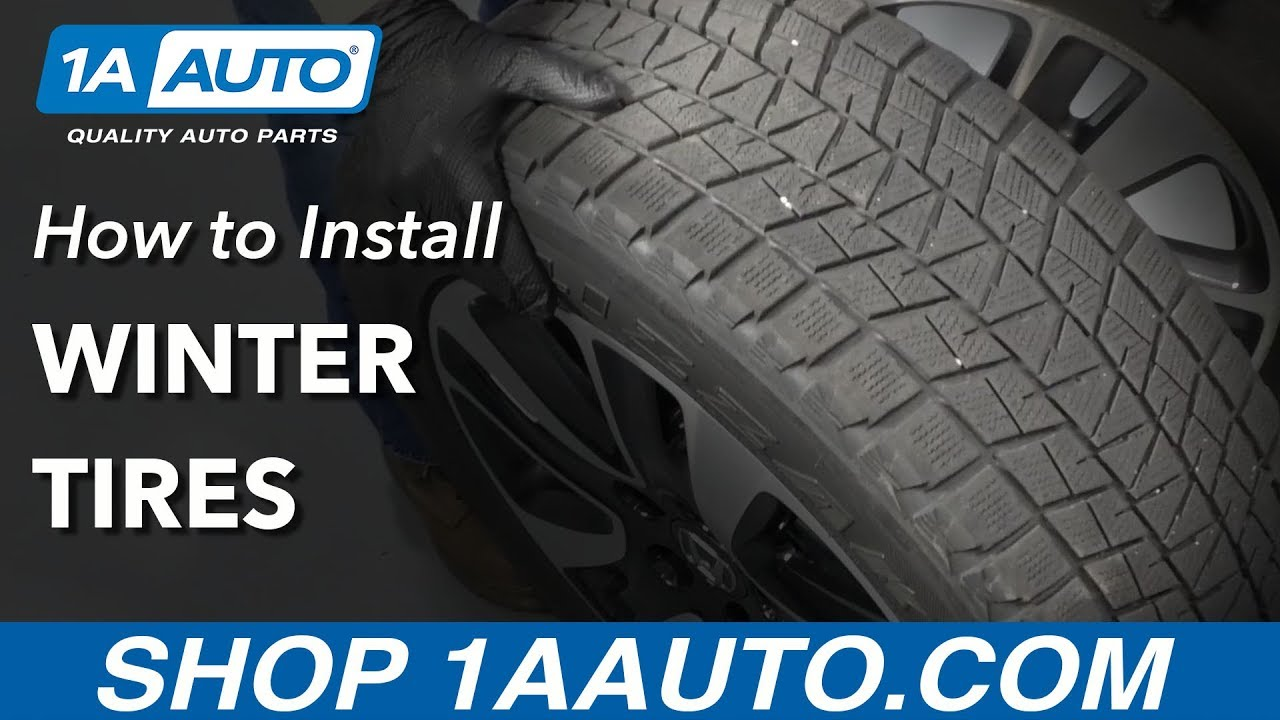 How to Install Winter Tires