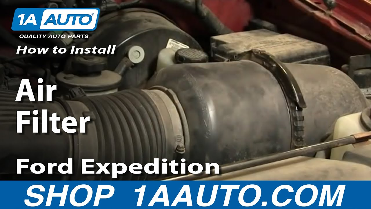 How To Replace Air Filter 97-03 Ford Expedition