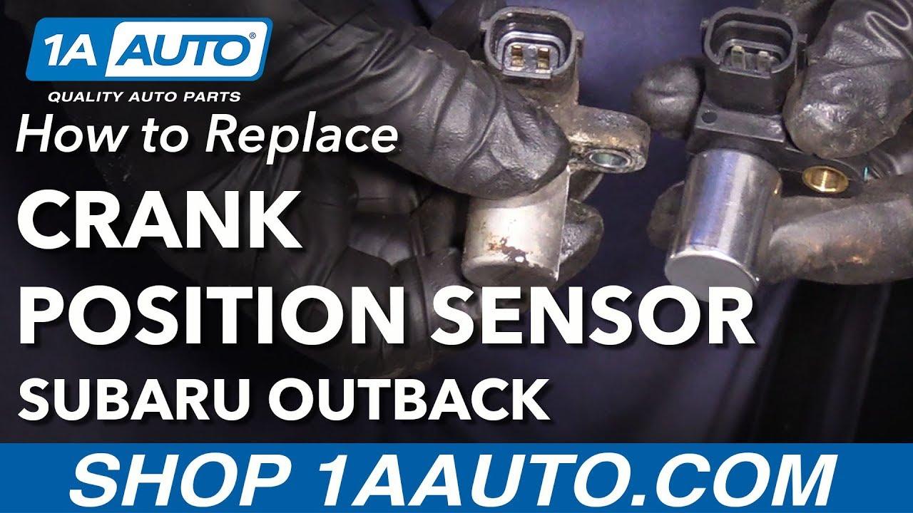 How to Replace Crankshaft Position Sensor 00-12 Subaru Outback
