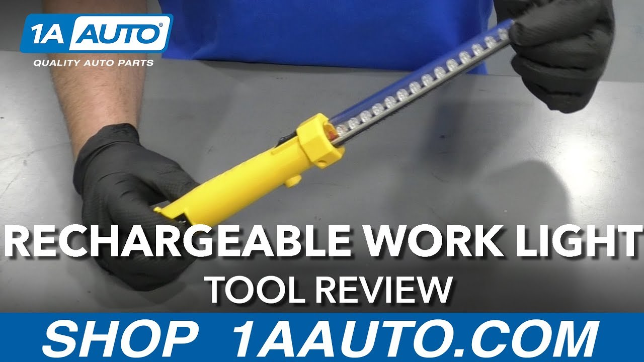 Rechargeable Work Light - Available on 1aauto.com
