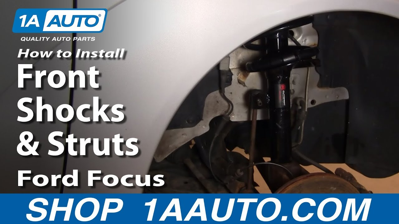 How to Replace Strut Assembly 00-05 Ford Focus