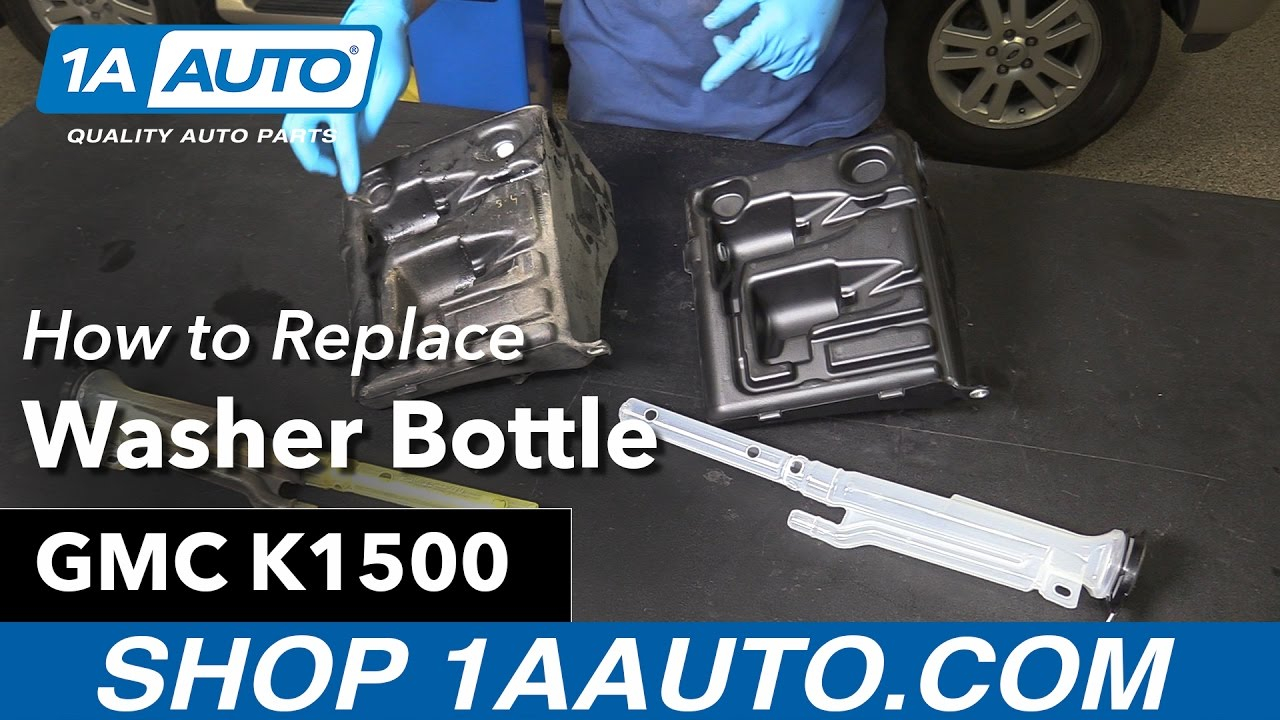 How to Replace Washer Bottle 96-99 GMC K1500