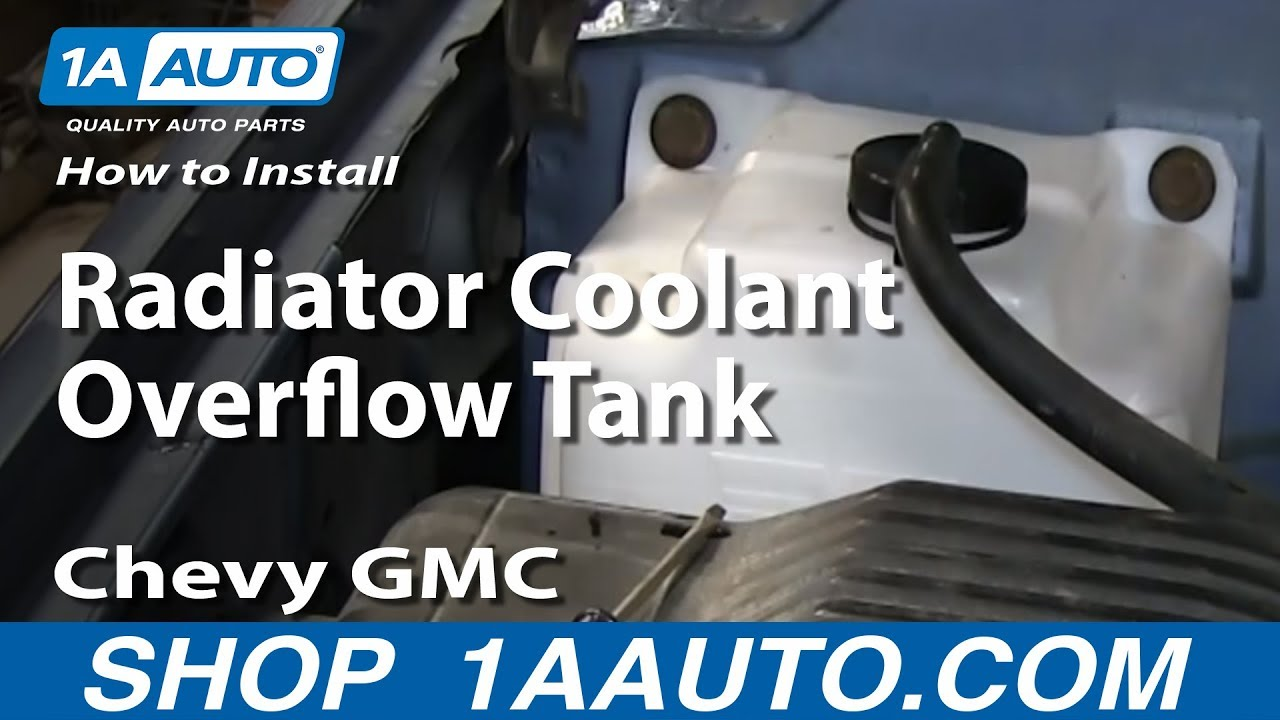 How to Replace Radiator Overflow Tank 95-99 Chevy Tahoe