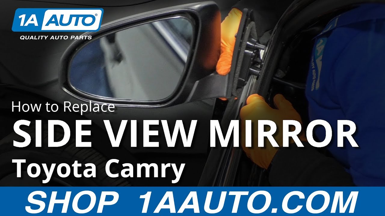How to Replace Side View Mirrors 12-14 Toyota Camry