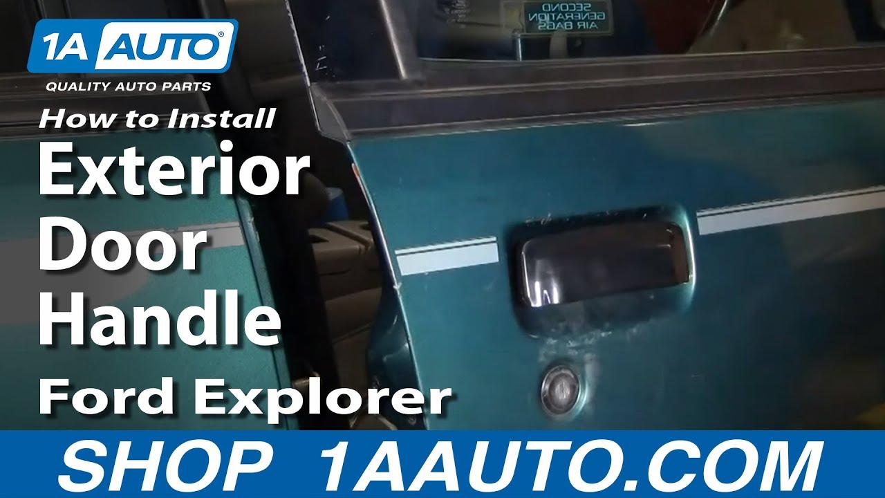 How to Replace Exterior Door Handle 98-01 Ford Explorer