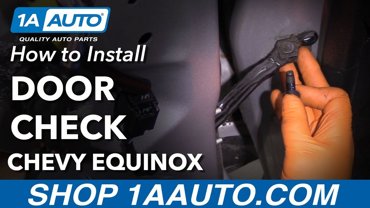 How to Replace Front Door Check 10-17 Chevy Equinox