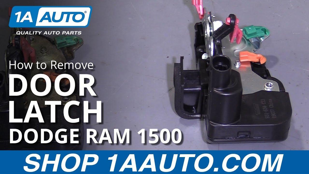 How to Replace Door Latch 94-02 Dodge Ram 1500