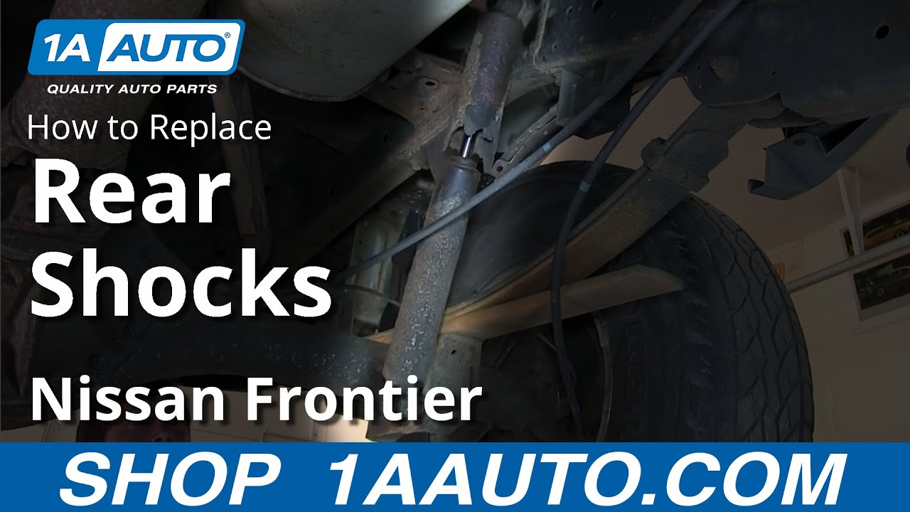 How to Replace Rear Shocks 00-04 Nissan Frontier and XTerra