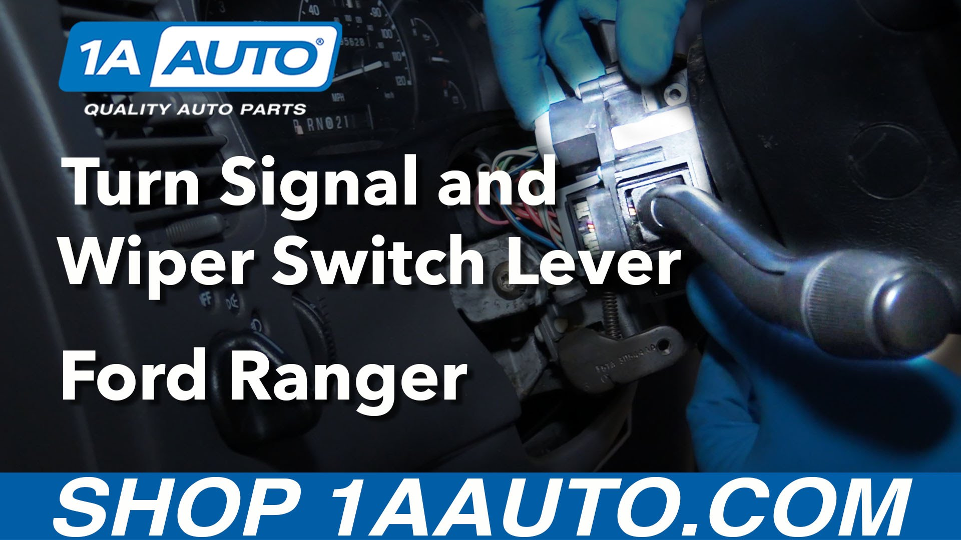 How to Replace Turn Signal Wiper Switch Lever 99-03 Ford Ranger