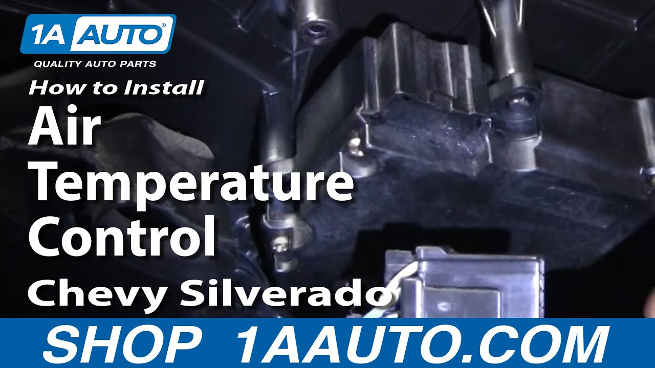 How to Replace Air Temperature Control 00-13 Chevy Silverado 1500