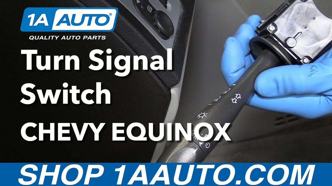 How to Replace Turn Signal Lever 07-09 Chevy Equinox