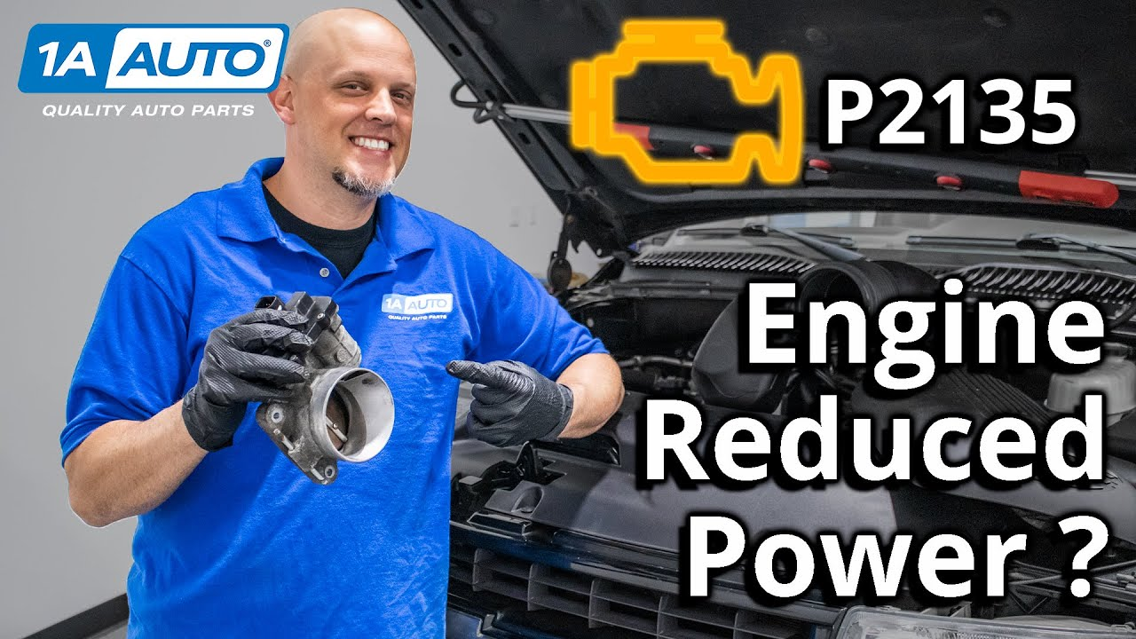 Check Engine Light Truck Reduced Engine Power or Stalling - Code P2135