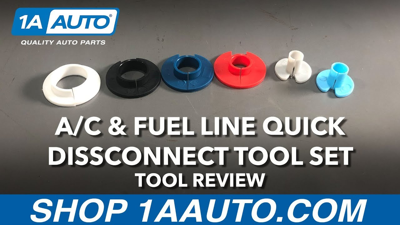 A/C & Fuel Line Quick Disconnect Tool Set - Available on 1aauto.com