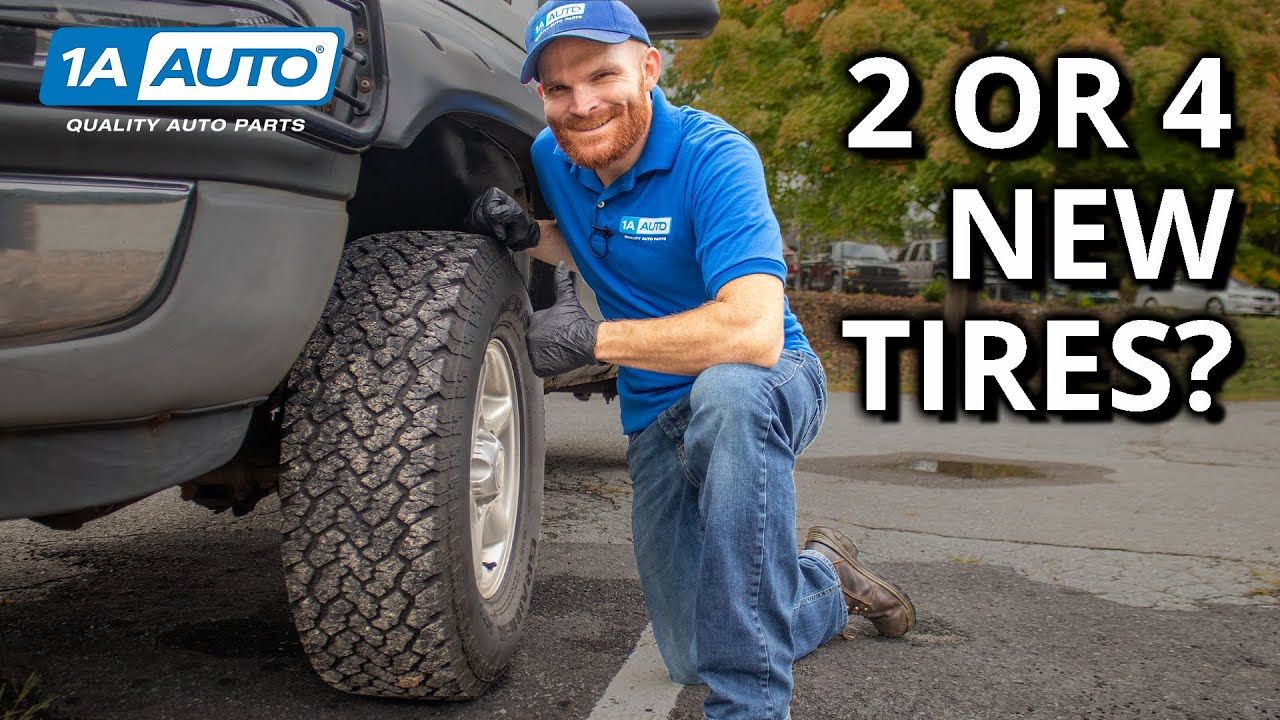 Is it OK to Mix Tires on a Car or Truck Old  New Winter  All Season
