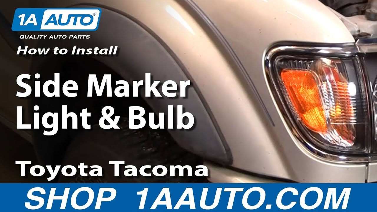 How to Replace Corner Light 01-04 Toyota Tacoma