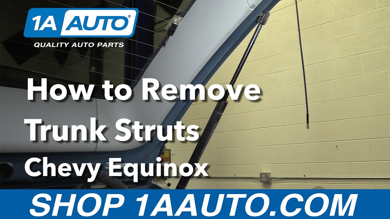How to Replace Trunk Struts 05-09 Chevy Equinox