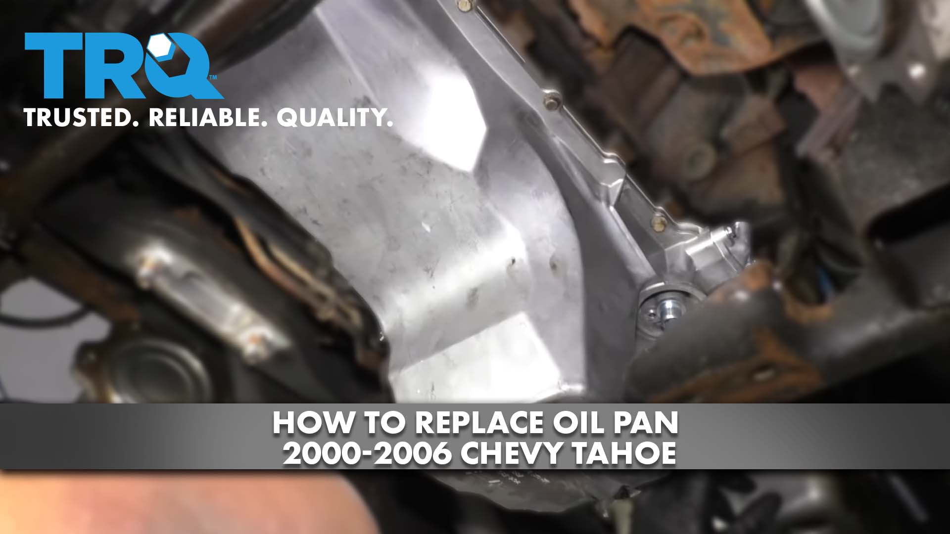 How to Replace Oil Pan 2000-06 Chevy Tahoe