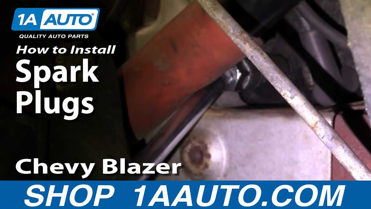 How to Replace Spark Plugs 96-05 Chevy Blazer S10