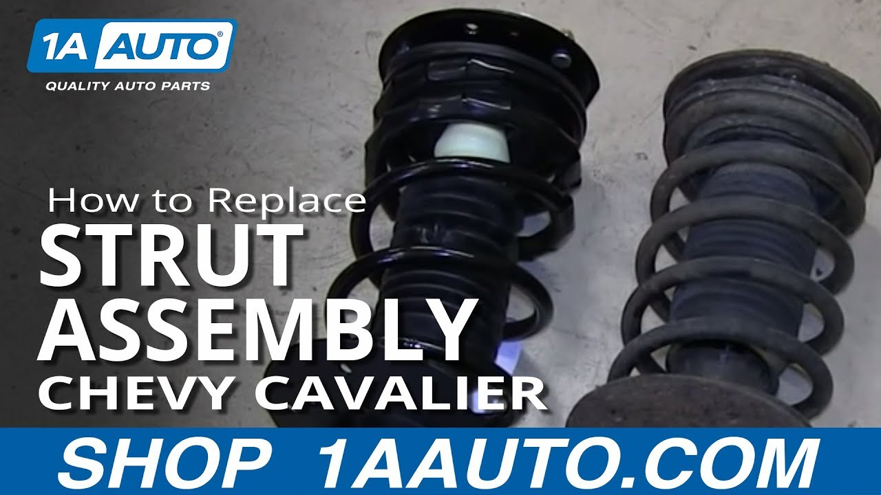 How to Replace Strut Assembly 00-05 Chevy Cavalier
