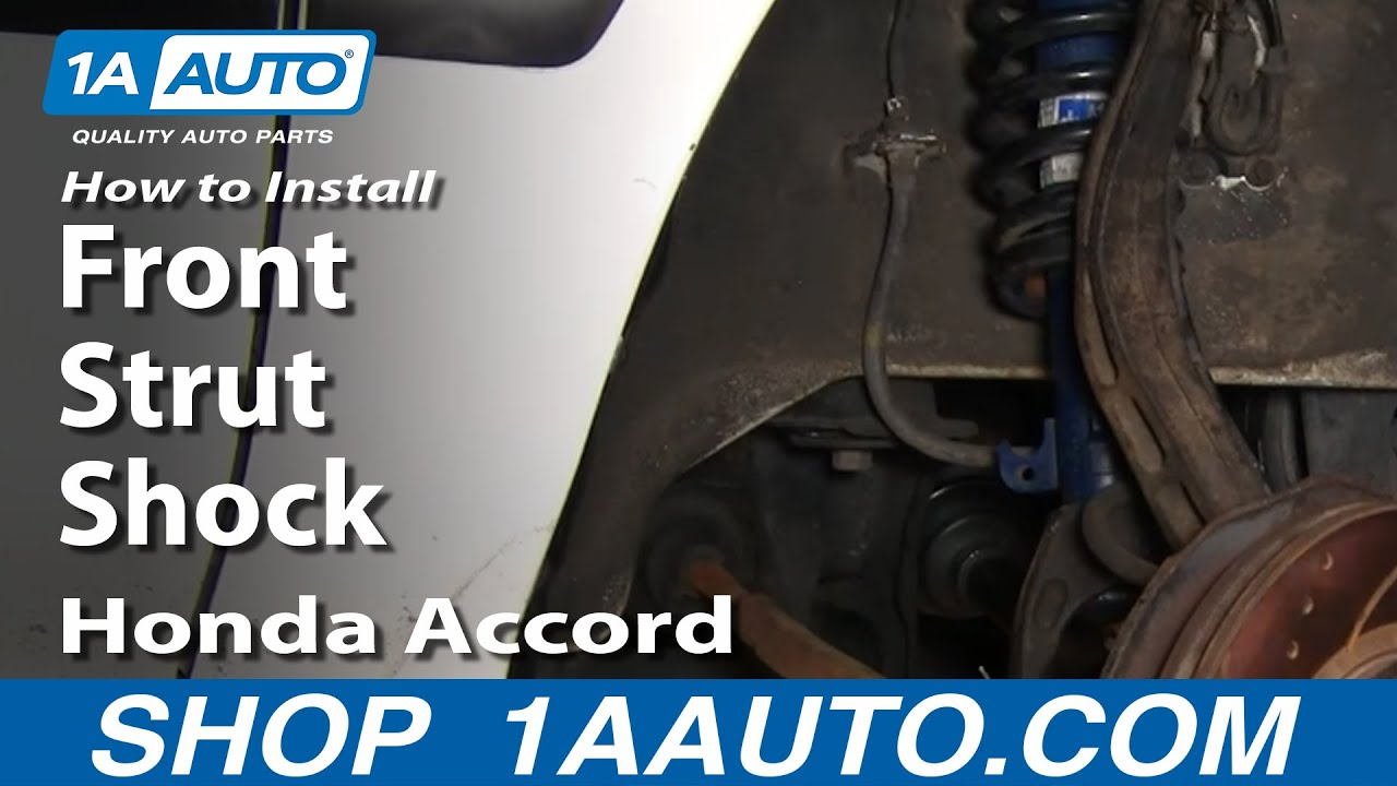 How to Replace Front Struts 94-97 Honda Accord