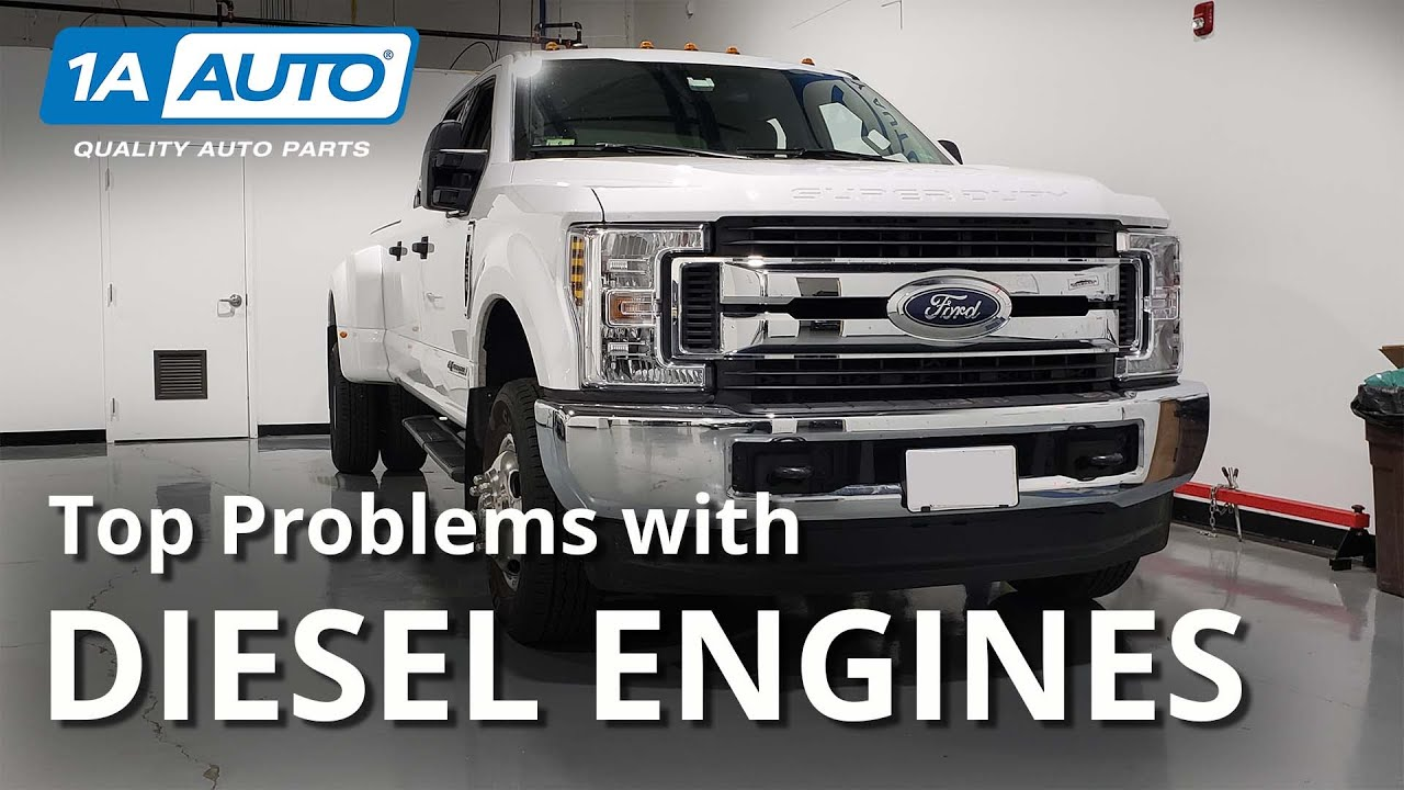 Top Problems with Diesel Engines