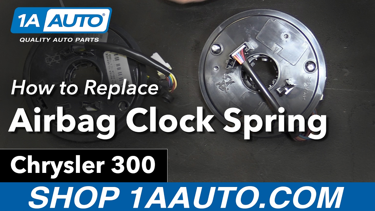 How to Replace Airbag Clock Spring 05-10 Chrysler 300