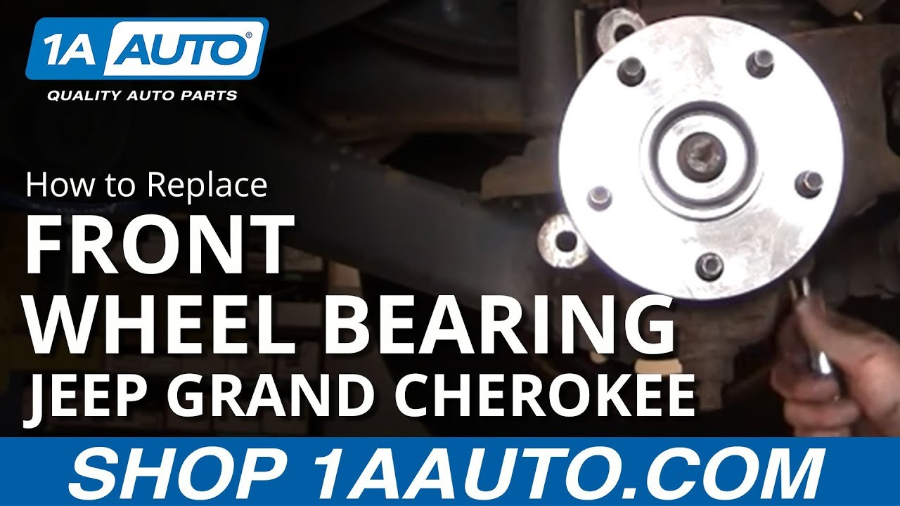 How to Replace Front Wheel Hub/Bearing 99-04 Jeep Grand Cherokee [PART 2]