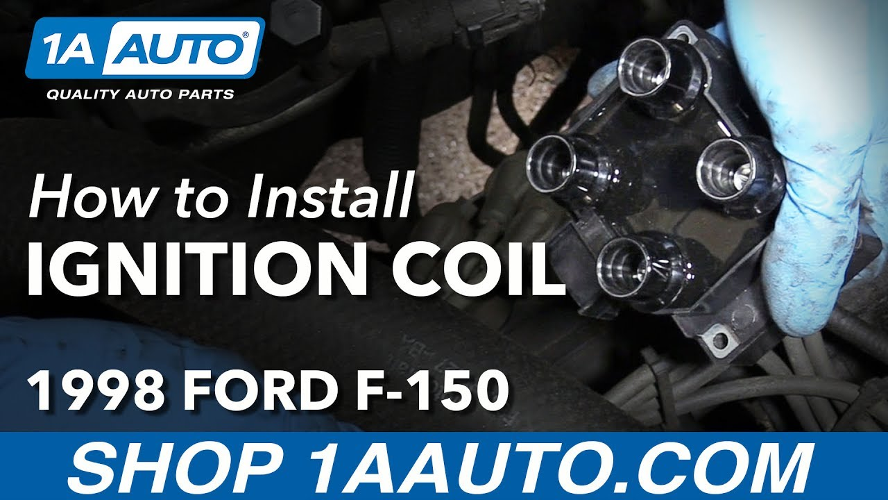 How To Replace Passenger Side Ignition Coil 97 99 4 6l V8 Ford F 150