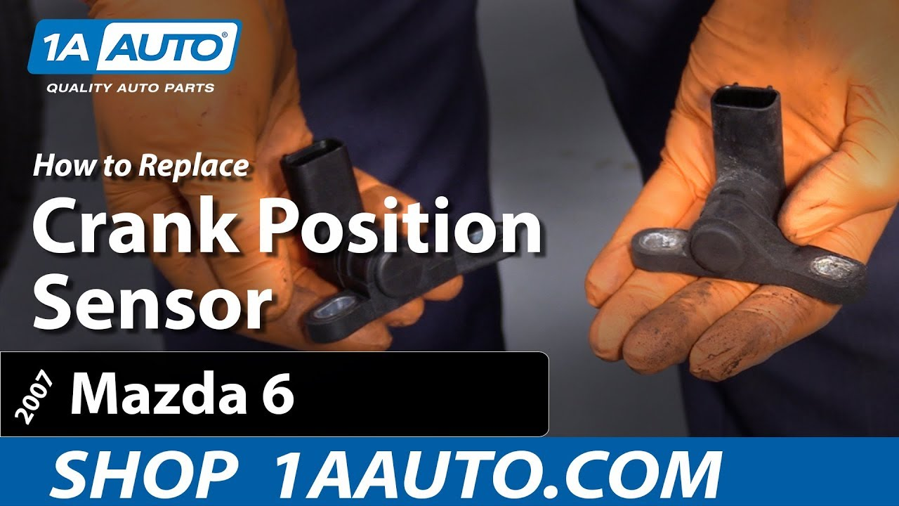 How To Replace Crank Position Sensor 06-13 Mazda 6