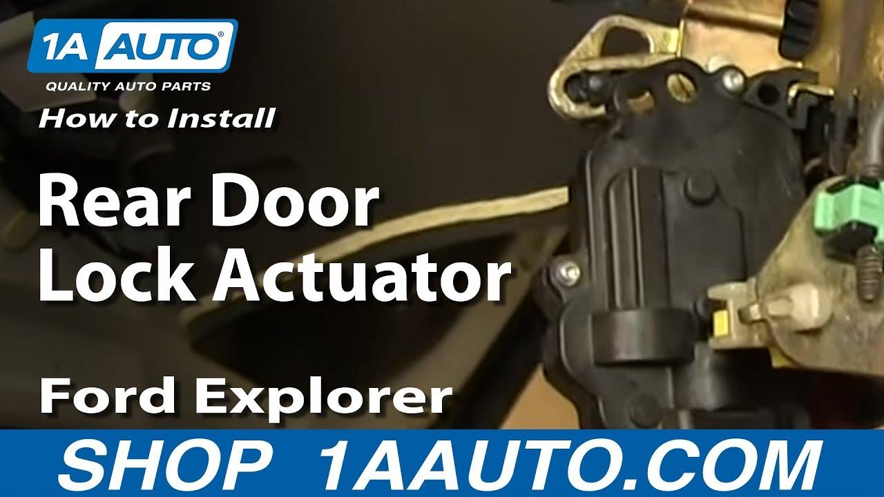 How to Replace Door Lock Actuator 02-10 Mercury ...