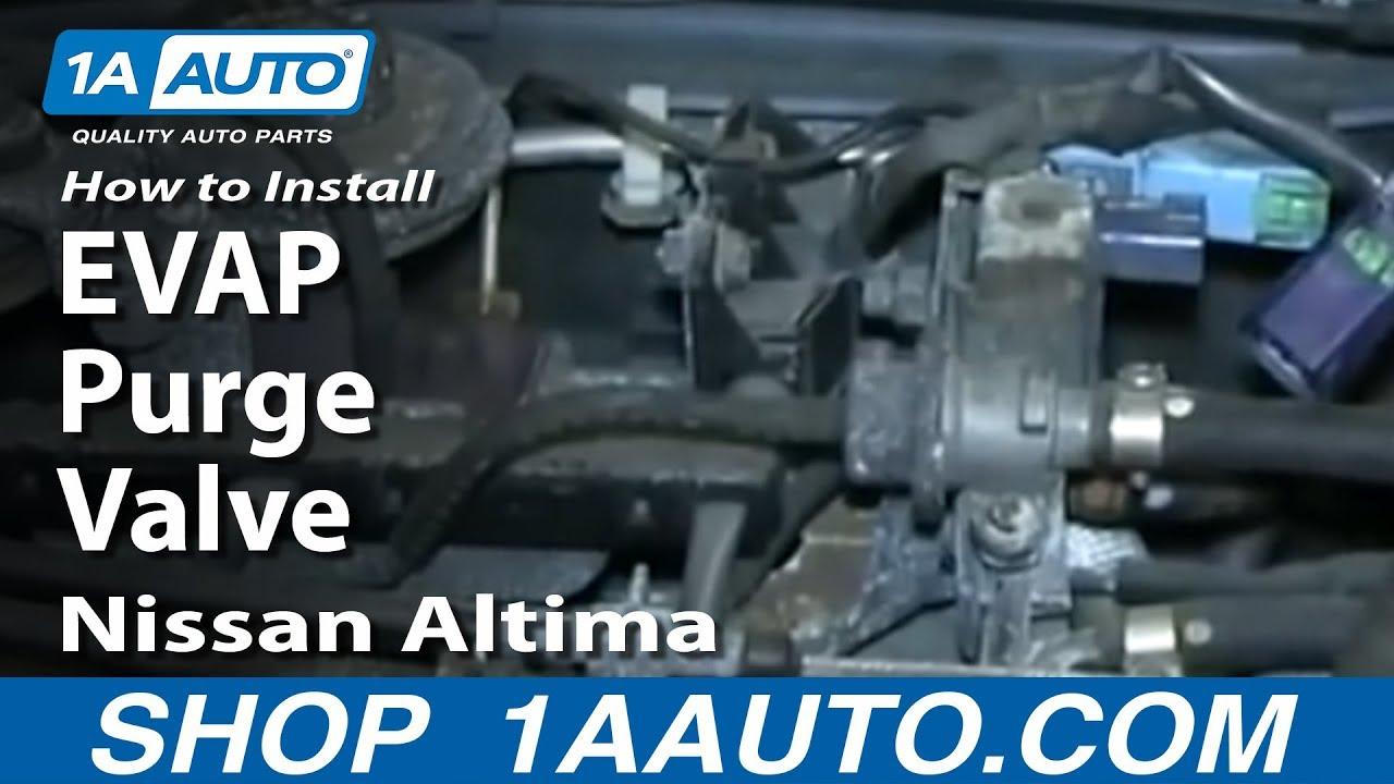How To Replace EVAP Purge Valve 96-00 Nissan Altima