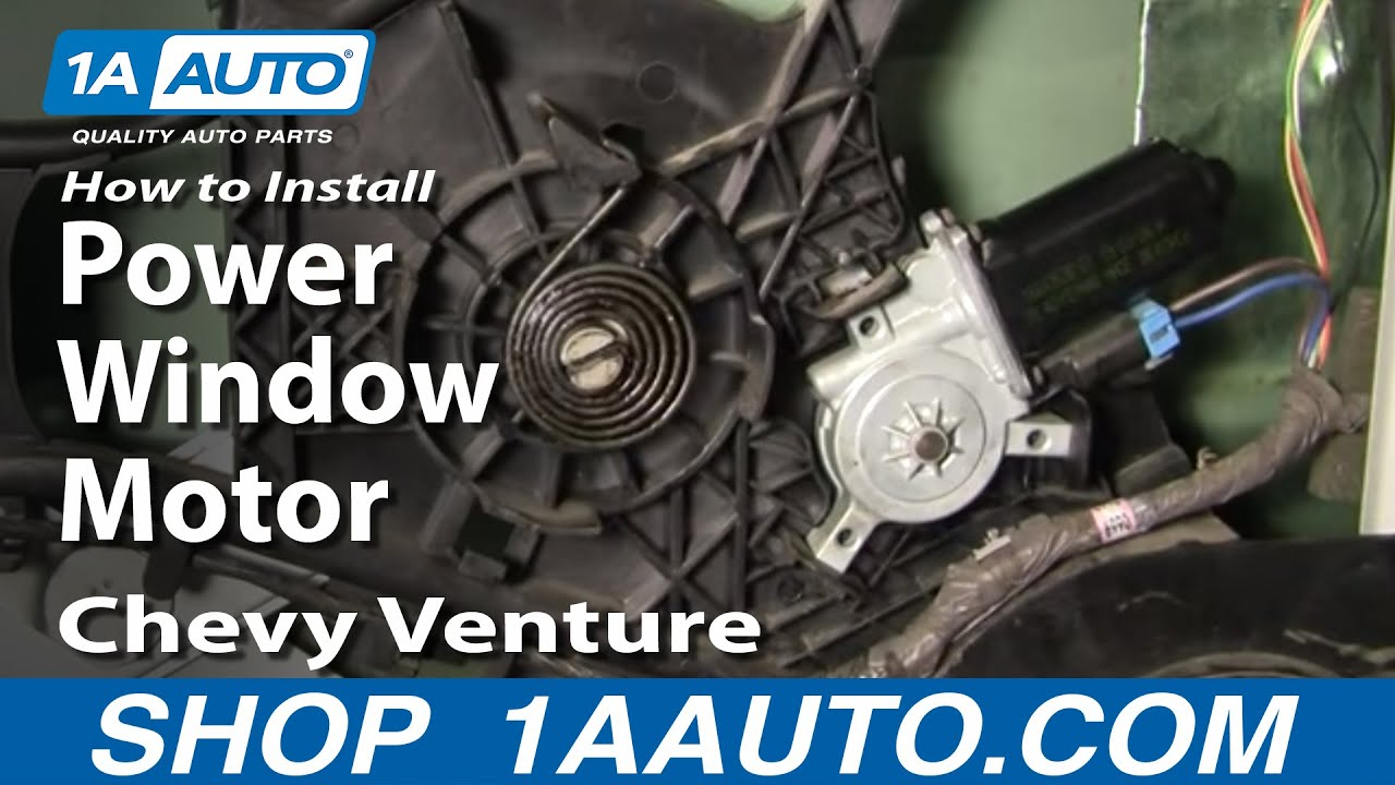 How to Replace Power Window Motor 97-05 Chevy Venture | 1A Auto  S Power Window Wiring Diagram on 97 s10 relay diagram, s10 power window regulator, s10 motor, specialty power windows wiring diagram, 2003 chevy s10 headlight circuit diagram, 1990 chevy s10 lighting diagram, chevy s10 steering column diagram, s10 electrical diagram, 2000 chevy s10 vacuum diagram, s10 door diagram, 1996 chevy blazer wiring diagram,