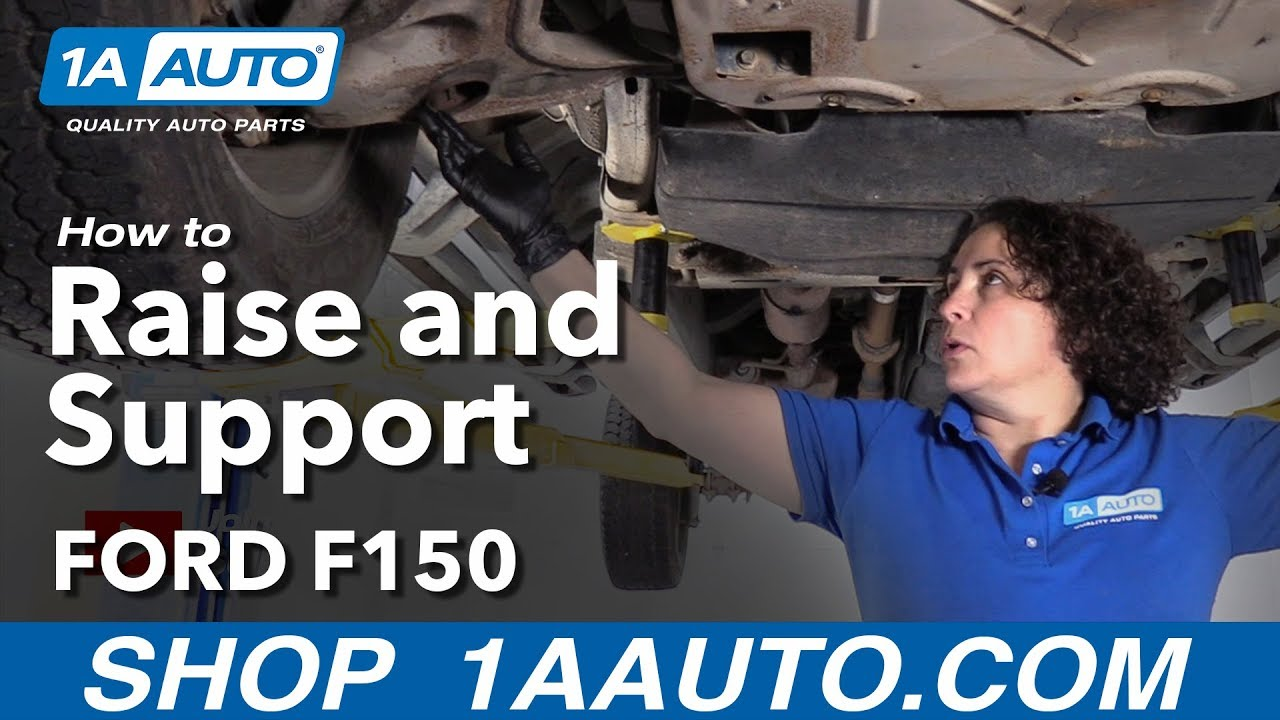 How to Raise and Support 11 Ford F-150