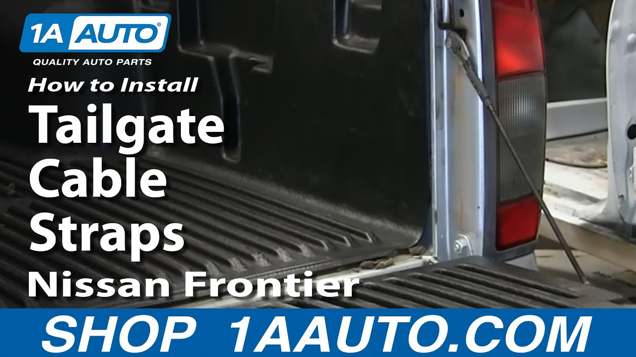 How to Replace Tailgate Cable 98-04 Nissan Frontier