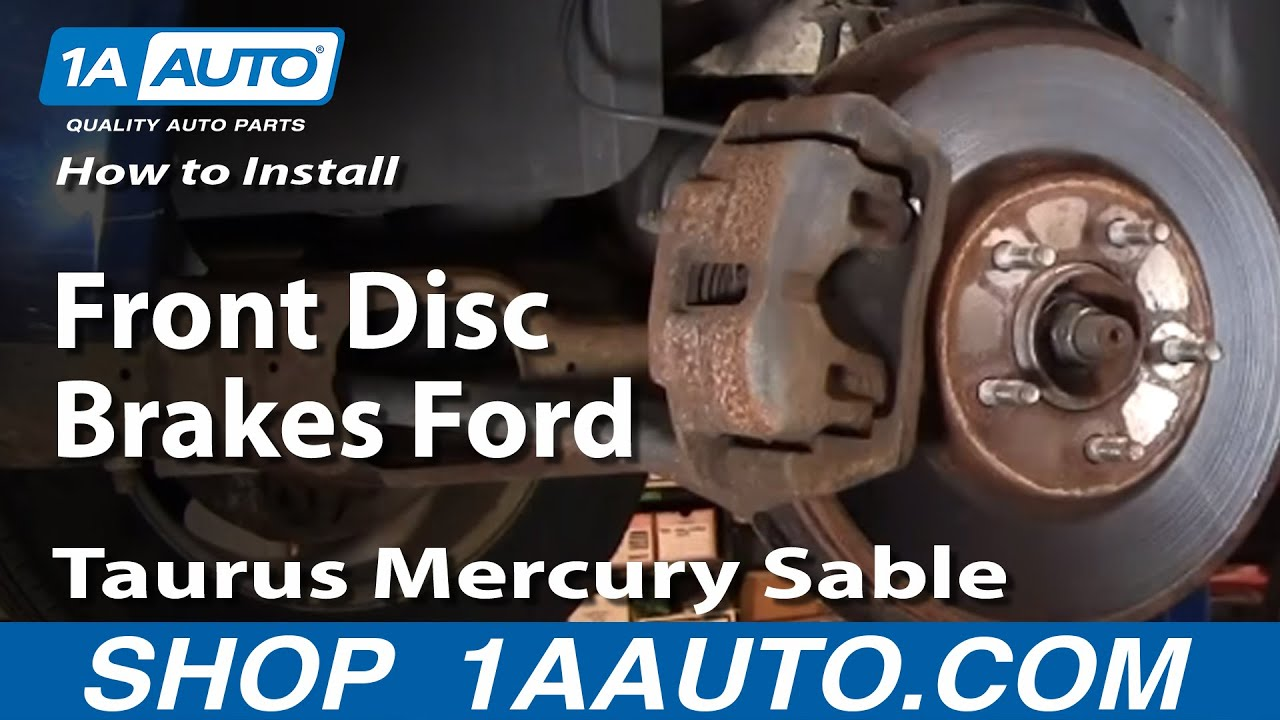 How to Replace Front Brakes 96-07 Ford Taurus