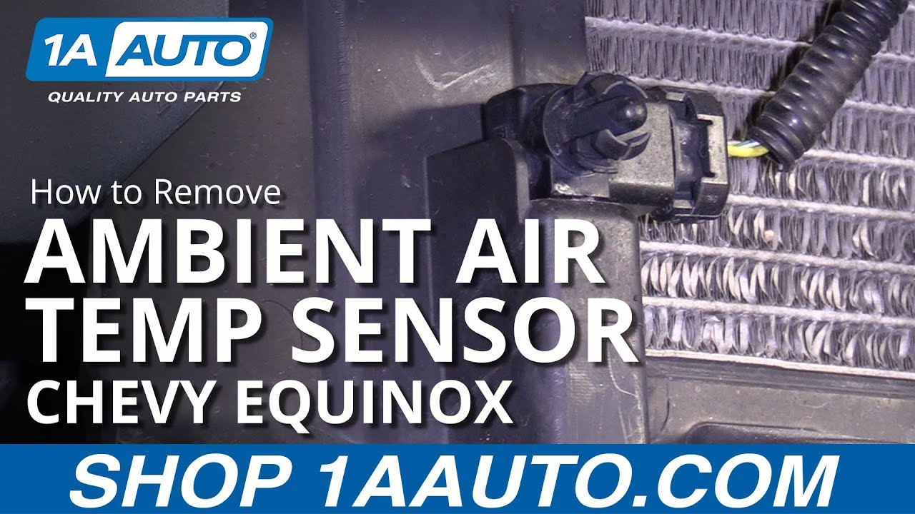 How to Remove Ambient Air Temp Sensor 10-17 Chevy Equinox