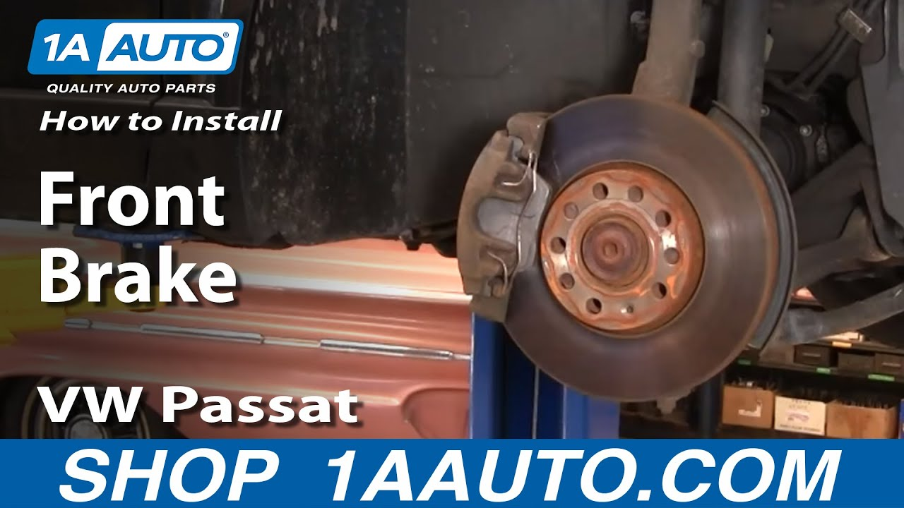 How To Replace Front Brakes 98-01 VW Passat