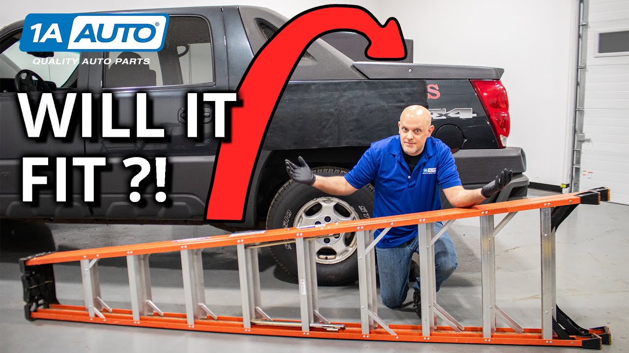 Think the Chevy Avalanche Truck Bed is Too Small Check Out This Trick