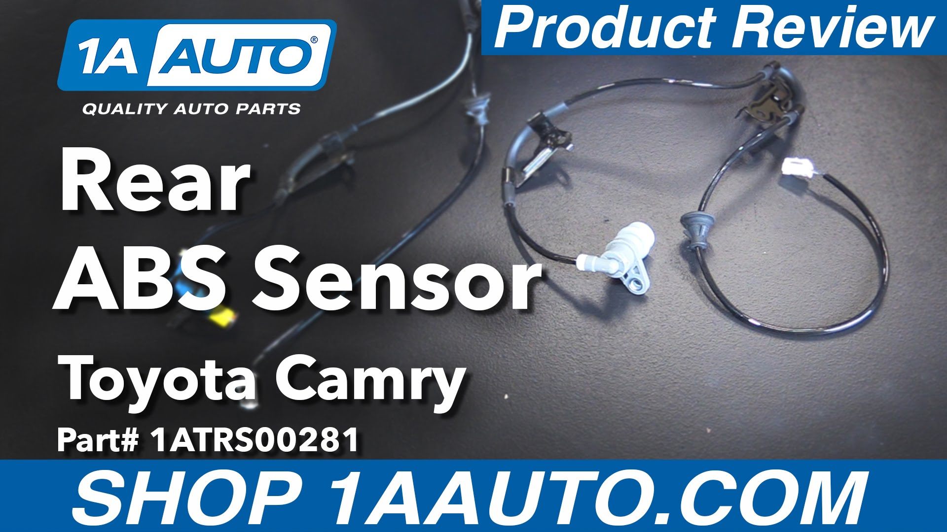 ABS Speed Sensor #1ATRS00281 92-96 Toyota Camry