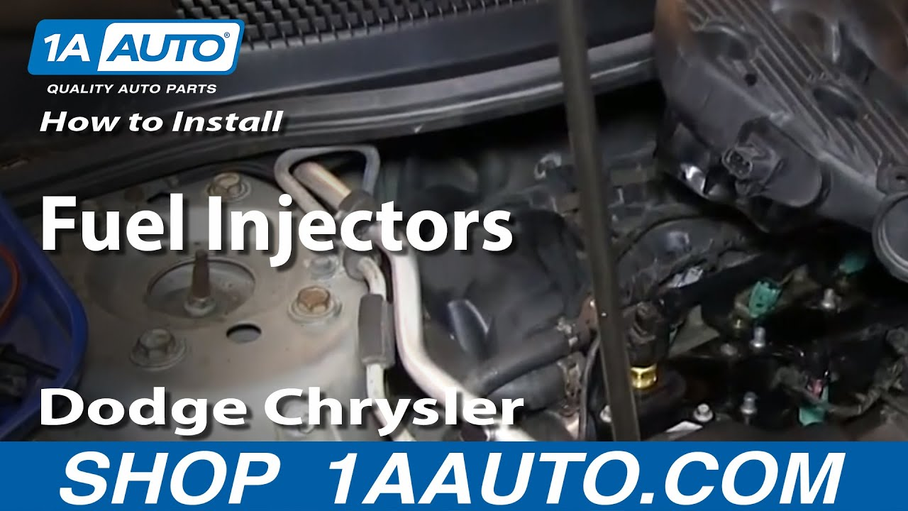 How To Replace Fuel Injector 04