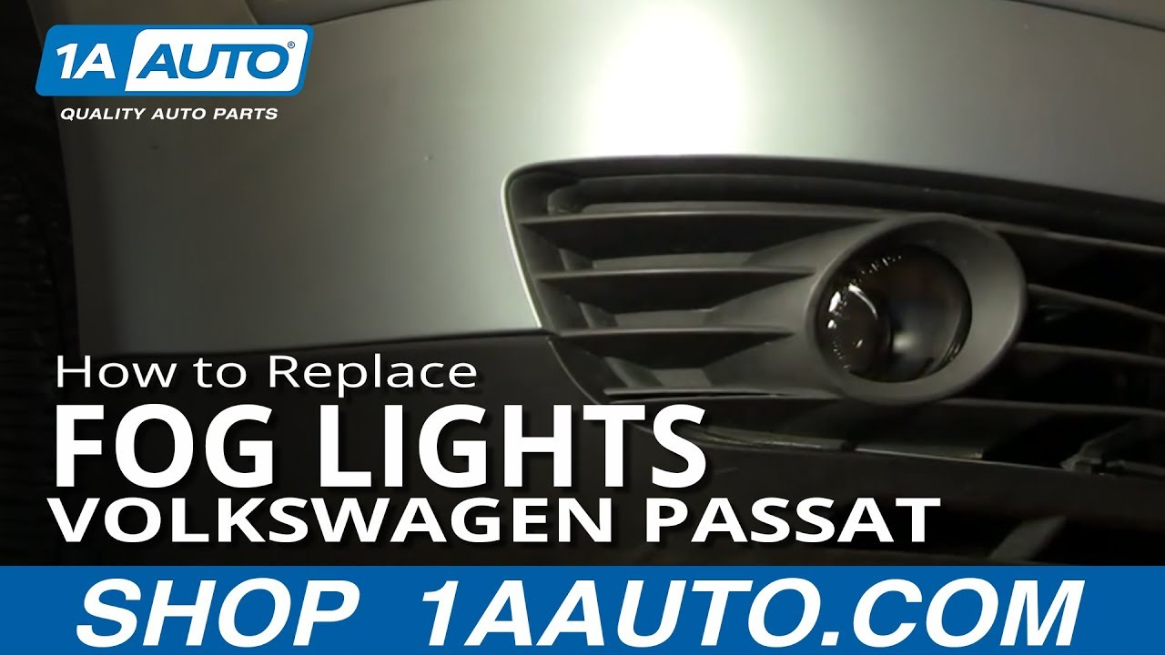 How To Replace Fog Light and Bulb 02-05 VW Passat