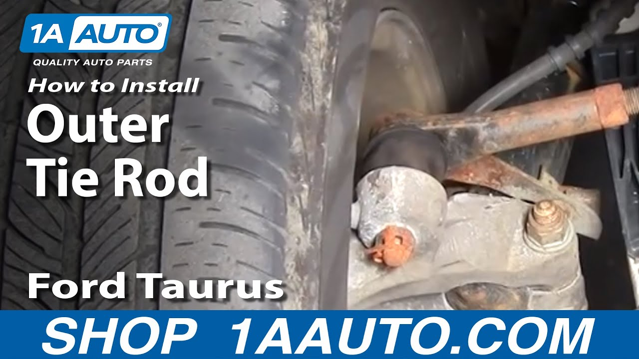 How to Replace Tie Rod 96-07 Ford Taurus